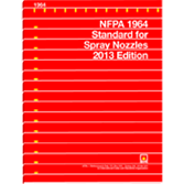 NFPA-1964(13): Standard for Spray Nozzles