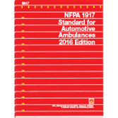 NFPA-1917(16) Standard for Automotive Ambulances