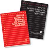 NFPA-110(13): Standard for Emergency and Standby Power Systems, Handbook