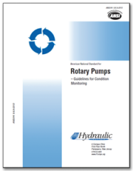 HI-A139 ANSI/HI 9.6.9-2013 Rotary Pumps: Guidelines for Condition Monitoring