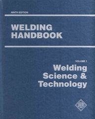 AWS- WHB-1.9 Welding Handbook Volume 1 - Welding Science & Technology