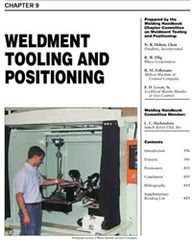 AWS- WHC1.09 Weldment Tooling and Positioning