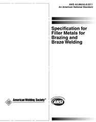 AWS- A5.8M/A5.8:2011 AMD1 Filler Metals for Brazing and Braze Welding