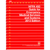 NFPA-450(13): Guide for Emergency Medical Services and Systems