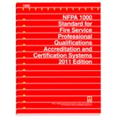 NFPA-1000(11): Standard for Fire Service Professional Qualifications Accreditation and Certification Systems