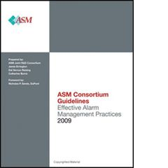 ISA-116023 ASM Consortium Guidelines Effective Alarm Management Practice 2009