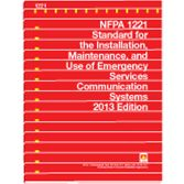 NFPA-1221(16): Standard for the Installation, Maintenance, and Use of Emergency Services Communications Systems