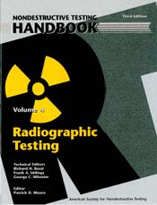 ASNT-0144 2002 ASNT Nondestructive Testing Handbook, Third Edition: Volume 4, Radiographic Testing (RT)