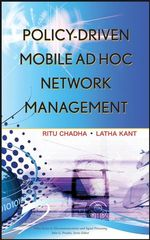 IEEE-05537-3 Policy-Driven Mobile Ad hoc Network Management