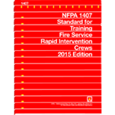 NFPA-1407(15): Standard for Training Fire Service Rapid Intervention Crews