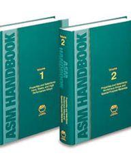 ASM-06062G-SET-V1&2-1990 ASM Handbook Volume 1 & 2: Properties and Selection Set