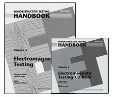 ASNT-0145WCD-PK Nondestructive Testing Handbook, Third Edition: Volume 5, Electromagnetic Testing (ET)