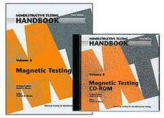 ASNT-0148WCD-PK Nondestructive Testing Handbook, Third Edition: Volume 8, Magnetic Testing (Book with CD-ROM)