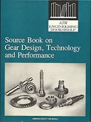 ASM-00921 Source Book on Gear Design, Technology, and Performance