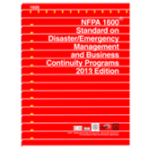 NFPA-1600(13): Standard on Disaster/Emergency Management and Business Continuity Programs