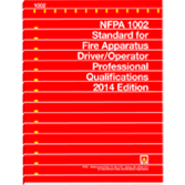 NFPA-1002(14): Standard for Fire Apparatus Driver-Operator Professional Qualifications