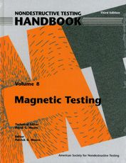 ASNT-0148-2008 Nondestructive Testing Handbook, Third Edition: Volume 8, Magnetic Testing (MT)
