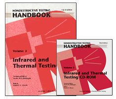 ASNT-0143WCD PK ASNT Nondestructive Testing Handbook, Third Edition: Volume 3, Infrared and Thermal Testing (Book with CD-Rom)