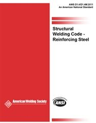AWS- D1.4/D1.4M:2011 Structural Welding Code Reinforcing Steel