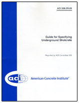 ACI-506.5R-09 Guide for Specifying Underground Shotcrete