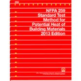 NFPA-259(13): Standard Test Method for Potential Heat of Building Materials