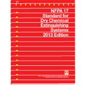 NFPA-17(13): Standard for Dry Chemical Extinguishing Systems