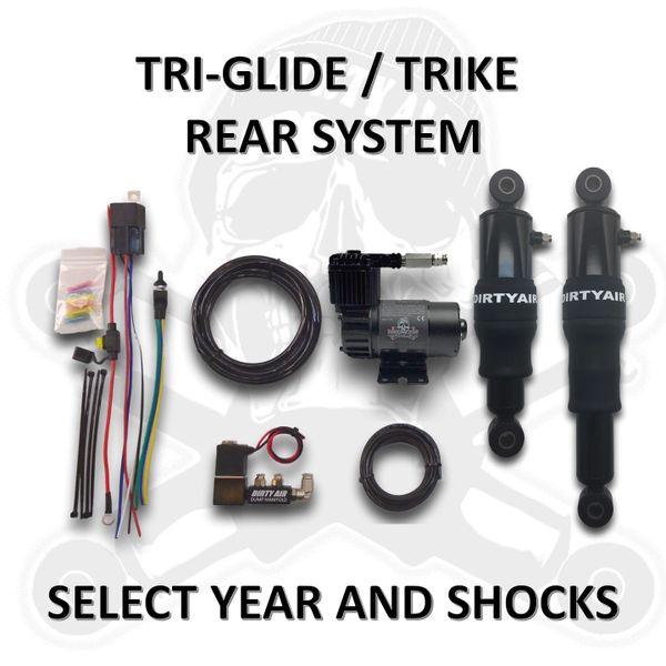 DIRTY AIR Rear TRI-GLIDE Air System TRIKE