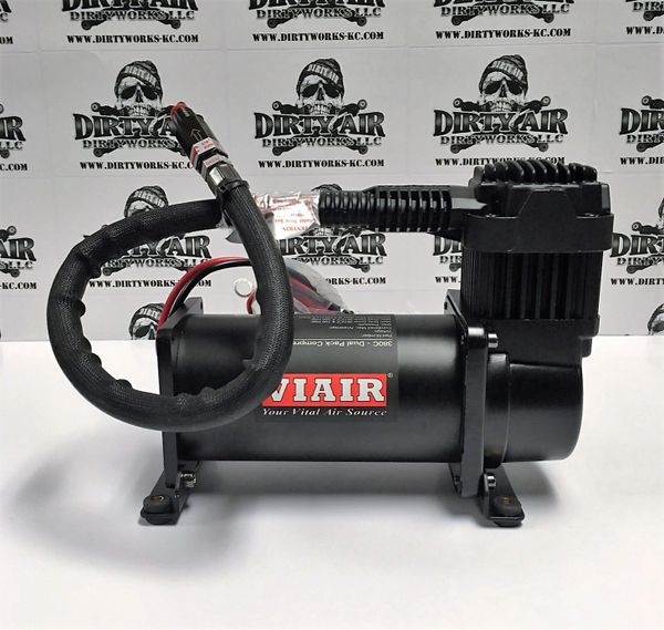 VIAIR 380C Compressor STEALTH BLACK
