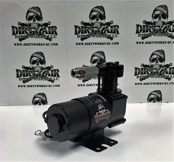 DIRTY AIR BLACK VIAIR 95C COMPRESSOR