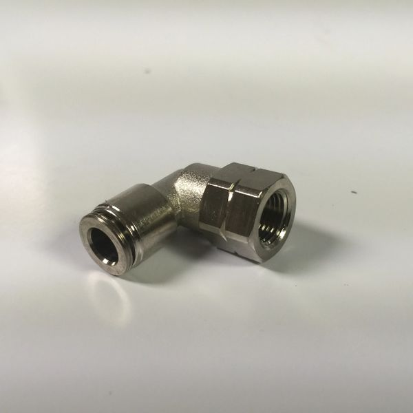 ►90° Swivel Air Fitting - Female Thread x Push-to-Connect