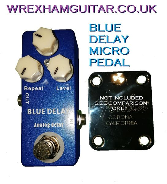 Mosky Micro Blue Delay Based on Mad Professor Deep Blue Delay