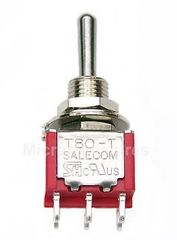 DPDT on-on Mini Toggle For Coil Tapping/Phase Switching etc