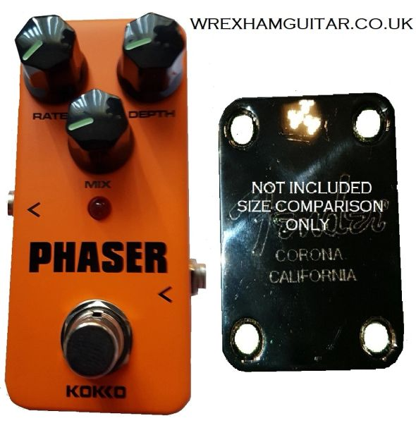KOKKO MINI ANALOG PHASER GUITAR EFFECT PEDAL STOMPBOX