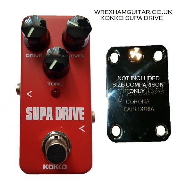 KOKKO SUPA DRIVE MINI GUITAR EFFECT PEDAL STOMPBOX