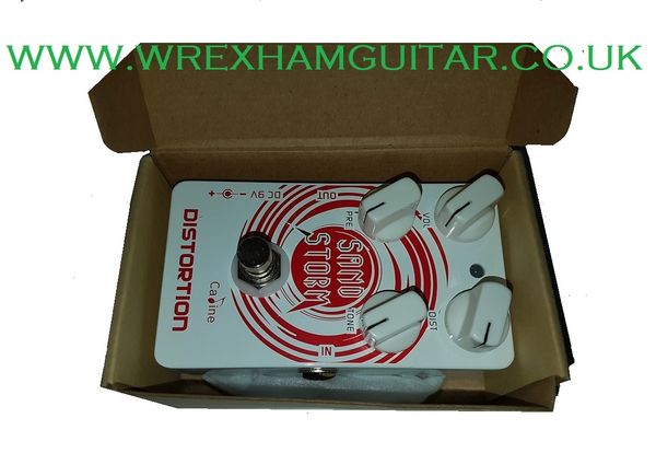 CALINE SAND STORM CRUNCH DISTORTION GUITAR EFFECT PEDAL STOMPBOX