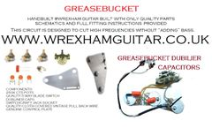 Greasebucket Stratocaster Strat Wiring Kit