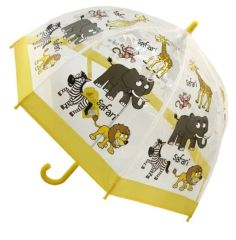 Kids safari umbrella - Clear PVC