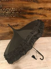 Frilly pagoda - Ruffle Black