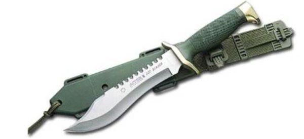 Aitor Oso Blanco Spanish Military Tactical Knife New