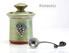 Petite Salt Pot - Vineyard