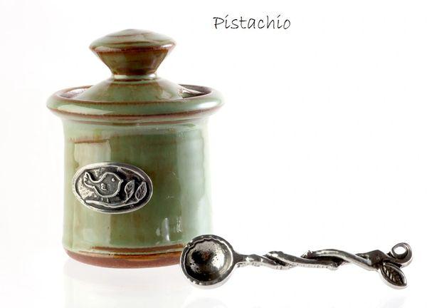 Petite Salt Pot - Bird