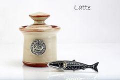 Petite Salt Pot - Fish