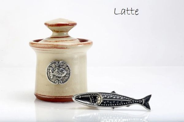Petite Salt Pot - Fish