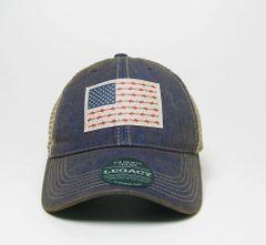 Shark Racing American Flag