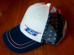 LS American Flag Snap Back