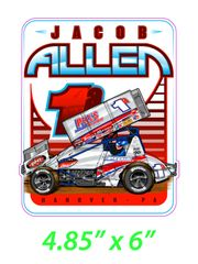 Jacob Allen Submerged Speed Decal