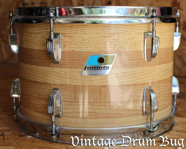 Ludwig Butcher Block Tom Drums Percussion Ludwig Gretsch