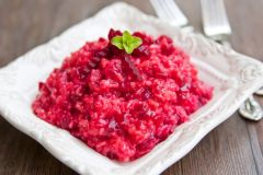 Previous Item: Red Beet Risotto w/ Parmigiano-Reggiano Water; Chairman's Parmigiano-Reggiano Risotto Also Available ($14.00 per person)