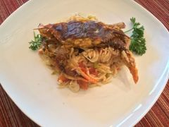 Sold Out! Tues., Oct. 16th: Pan Roasted Soft Shell Crabs with a Roasted Tomato Pan Sauce over Orzo Pilaf (Time to Cook: 20 min / Cook by Day: Wed.)