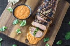 Previous Item: Catalonian Pimentón-Rubbed Berkshire Pork Loin with Romesco Sauce over White Beans - (Time to Cook: 30min. / Cook by Day: Sat)